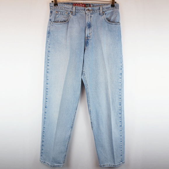 Levi's Denim - Levis Jeans SilverTab Loose High Waist Tapered Leg